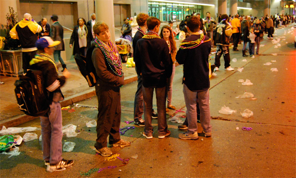 Geographies of art - Mardi Gras, New Orleans, 2012